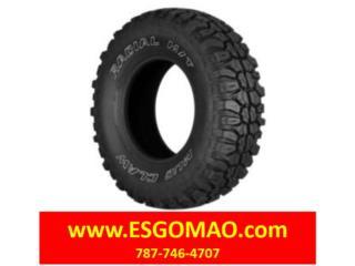 Gomas Usadas - 33x12.5R20 Mud Claw USA Puerto Rico