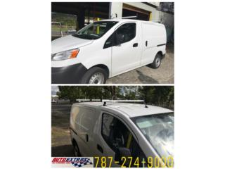 Roof Rack para Nissan y Ford Transit, Puerto Rico