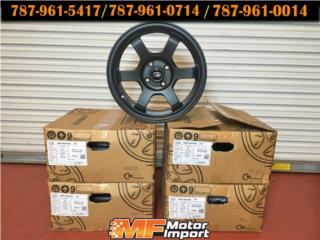ROTA WHEELS Grid Racing 15x7 Flat Black!!, Puerto Rico