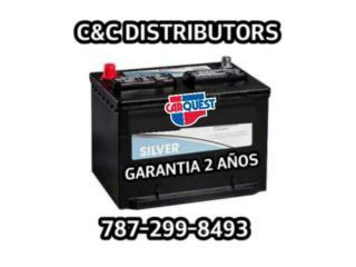BATERIAS CON 2 A~O DE GARANTIA DESDE $85, Puerto Rico