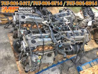 Motor 2AZ Camry 2002-2009 Disponibles... , Puerto Rico