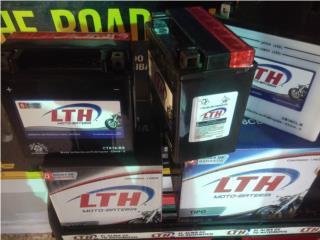 BATERIAS PARA MOTORAS LTH DESDE $31.95, Puerto Rico