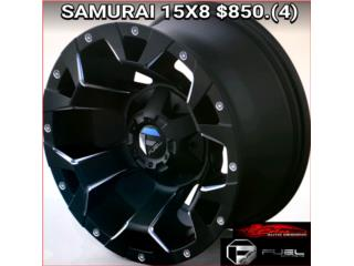 Aros / Wheels - AROS/WHEELS SAMURAI 15X8  Puerto Rico