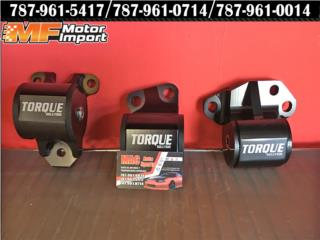 Engine Mount Kit Torque Civic 92-95 Serie B/D, Puerto Rico