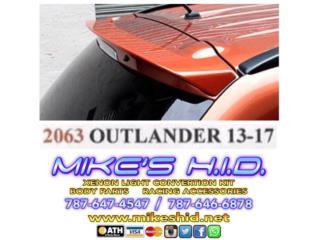 ROOF SPOILER MITSUBISHI OUTLANDER 13 - 17, Puerto Rico