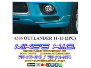 FRONT LIP MITSIBISHI OUTLANDER 11 - 15, Puerto Rico