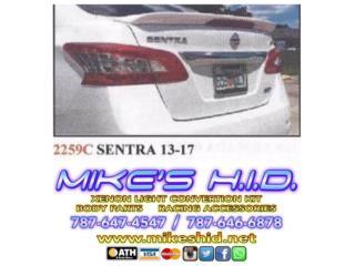 SPOILER BAUL NISSAN SENTRA 13-17, Puerto Rico