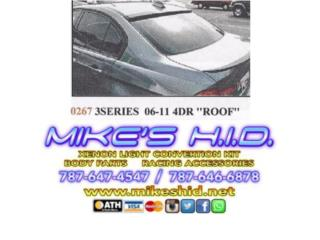 ROOF SPOILER BMW 3 SERIES 06 - 11 4DR, Puerto Rico