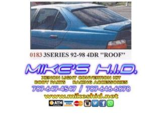 ROOF SPOILER BMW 3 SERIES 92-98 4DR, Puerto Rico