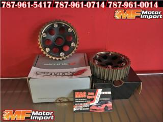 RACING CAM GEARS Para Honda Civic, INTEGRA!!!, Puerto Rico