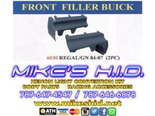 FRONT FILLER BUICK - REGAL / GN 84 - 87, Puerto Rico