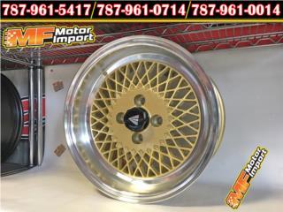 Enkei 92 15X8 4X100 25 Off Set GOLD!!!, Puerto Rico