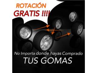 GOMAS USADAS 215-55-16 MONTADA $34.95, Puerto Rico