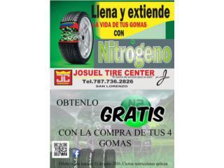 GOMAS USADAS 195-50-15 MONTADA $25.00, Puerto Rico
