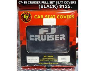 FJ CRUISER 2007 SEAT COVERS (BLACK), Puerto Rico