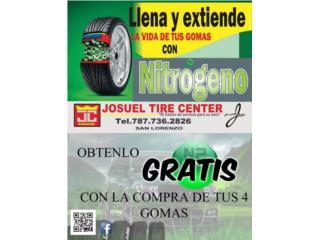 GOMAS USADAS 195-60-15 MONTADA $25.00, Puerto Rico