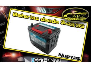 BATERIAS (Nuevas) $49.95 Con Garantia, Puerto Rico
