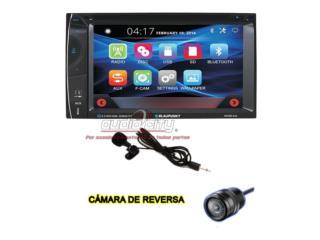BLAUPUNKT DVD 6.2 Touch+Cam., Puerto Rico