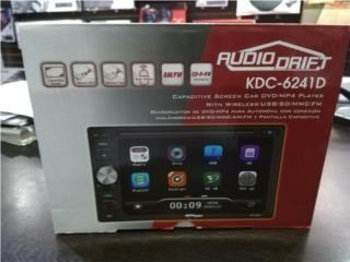AM-FM-CD-DVD-BT 2Din 6.2 C.Rem., Puerto Rico