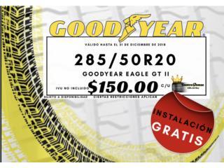 Gomas Nuevas - GOODYEAR Eagle GT II 285/50R20 Puerto Rico