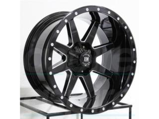 4x4 Aros Wheels - AROS XM-304 TAMANOS 20X10 22X12 24X14 26X14 Puerto Rico