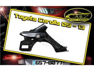 Quarter Panel Toyota COROLLA 09 - 13, Puerto Rico