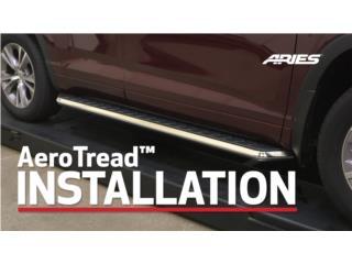 Estribos Aries para SUV Aero Tread, Puerto Rico
