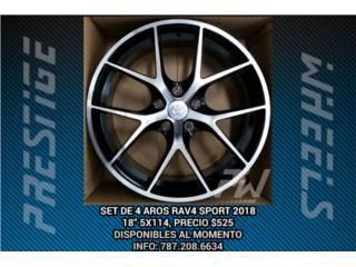 Aros / Wheels - AROS RAV4 SPORT 2018 5X114 Puerto Rico