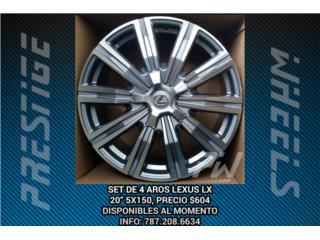 Aros / Wheels - AROS LEXUS LX570 20