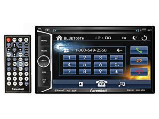 Farenheit, AM-FM-CD-DVD-BT-USB-AUX  6.2, Puerto Rico