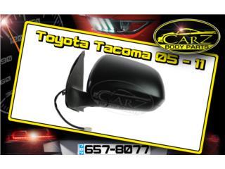 Espejo RETROVISOR Toyota TACOMA 05 - 11, Puerto Rico