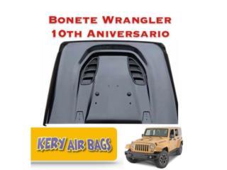 Bonete Wrangler Rubicon 10th Aniversario , Puerto Rico