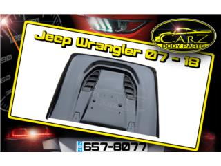 BONETE Jeep Wrangler 07 - 18 10th Anniversary, Puerto Rico