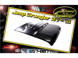 BONETE Jeep Wrangler 07 - 18 Avenger, Puerto Rico