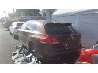 Toyota venza 2011 para piezas, Puerto Rico