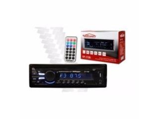 RADIO AUDIO DRIFT BLUETOOH+AUX+USB (NO CD), Puerto Rico