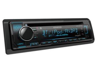 RADIO KENWOOD SINGLE DIN BLUETOOH-AUX-USB-CD, Puerto Rico