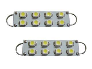 LED 561, WHITE, 8 LED'S (100 ESTILOS MAS), Puerto Rico