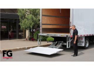 Liftgates hidráulicos para camiones, Puerto Rico