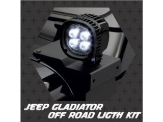 Jeep Gladiator y Jeep JL Off road Ligth kit , Puerto Rico