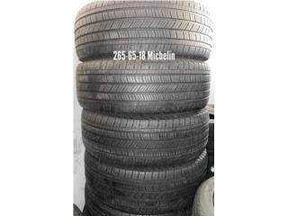 4 Gomas 265-65-18 Michelin, Puerto Rico