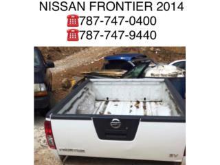 Cajon Nissan Frontier 2014, Puerto Rico