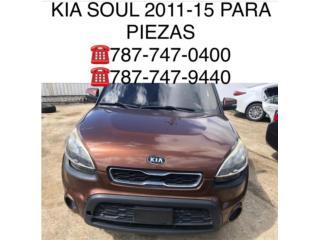 Tapiceria Kia soul 2011-2015, Puerto Rico
