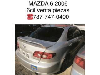 Tapa de baul Mazda 6 2006, Puerto Rico