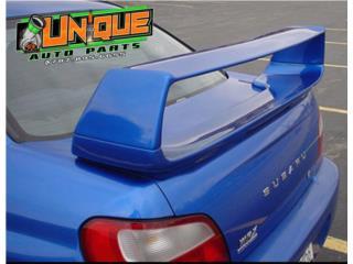 Spoiler Subaru STI 02-07 ALTO , Puerto Rico