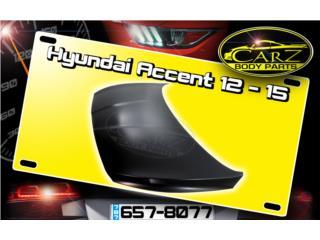 BONETE Hyundai ACCENT 12 - 16, Puerto Rico