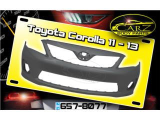 BUMPER Toyota COROLLA 2011 - 2013, Puerto Rico