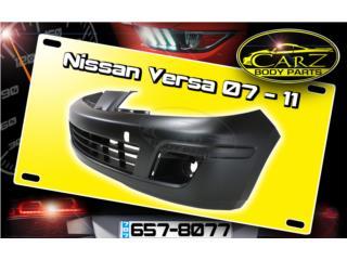 BUMPER Nissan VERSA 2007 - 2011, Puerto Rico