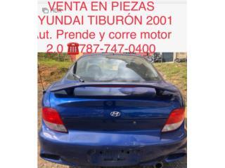 Bonete Hyundai Tiburon 2001, Puerto Rico