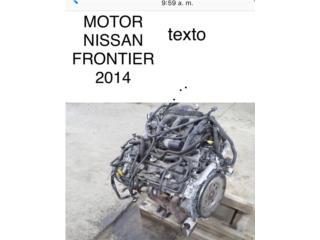 Motor Nissan frontier 2014, Puerto Rico